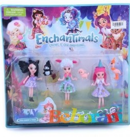 Фигури Enchantimals с кукли